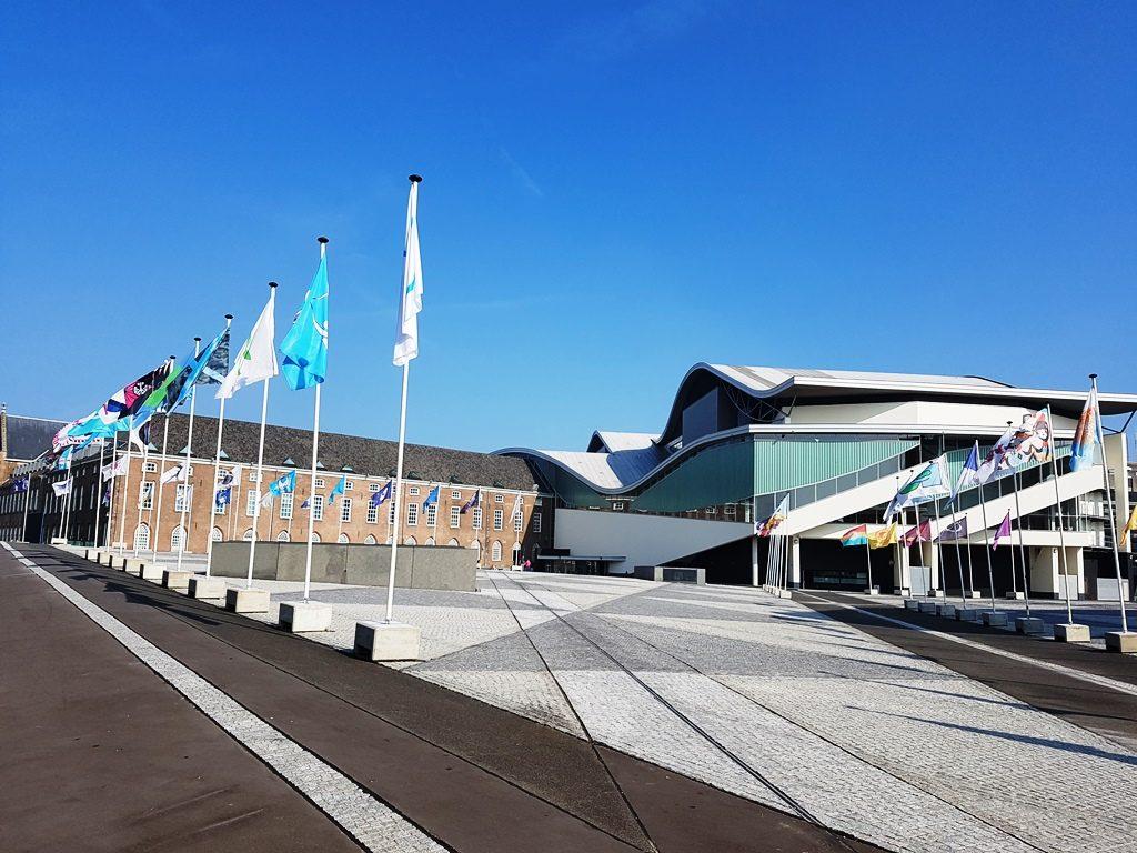 Vredesvlaggen van Graphic Matters in Breda