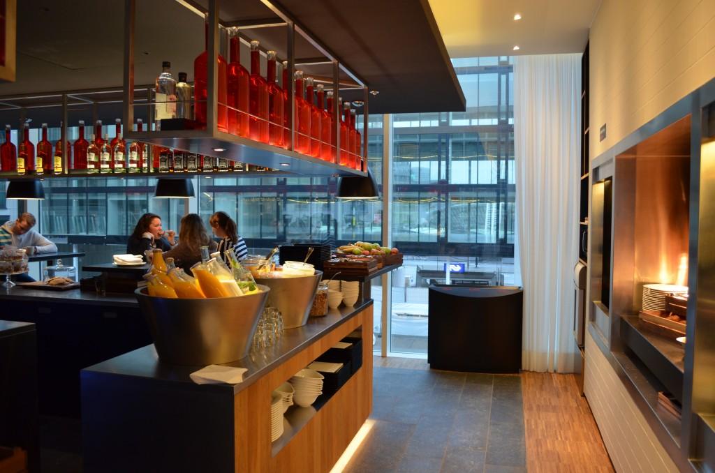 Ontbijt bij CitizenM Rotterdam