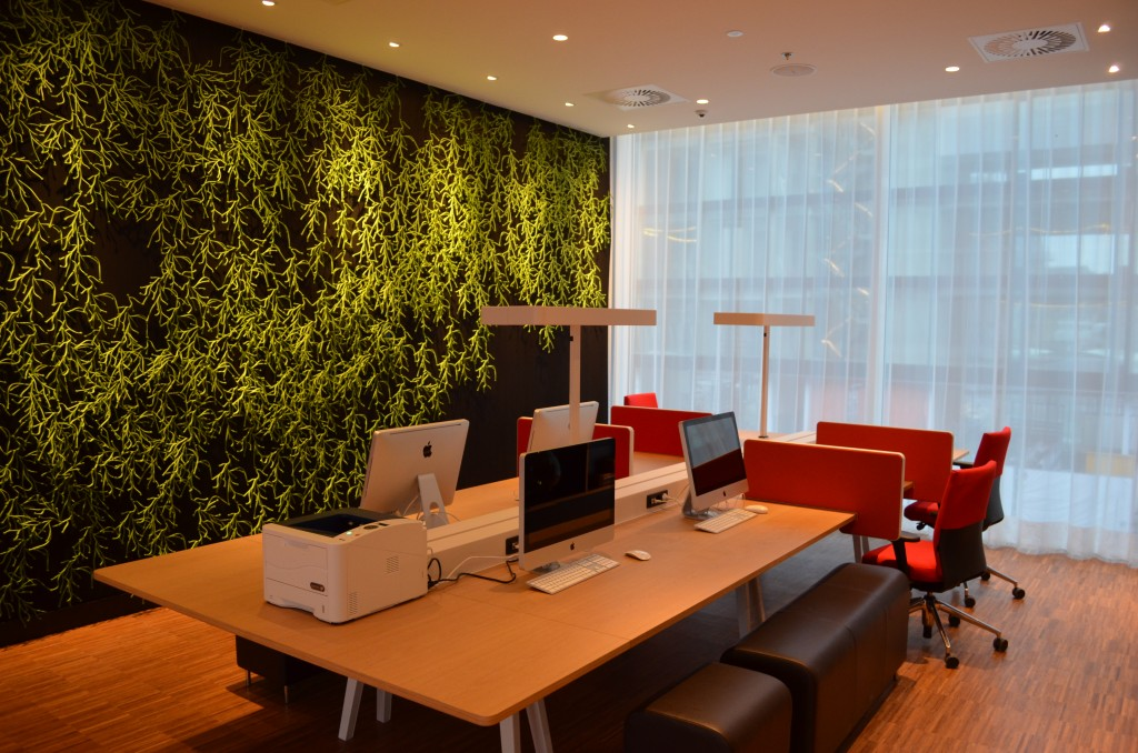 Werkplek bij CitizenM Rotterdam