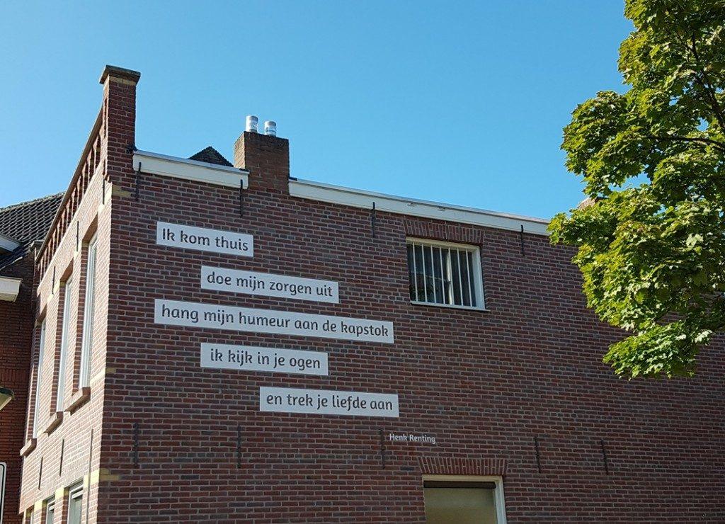 Fietsroute Eindhoven gedicht