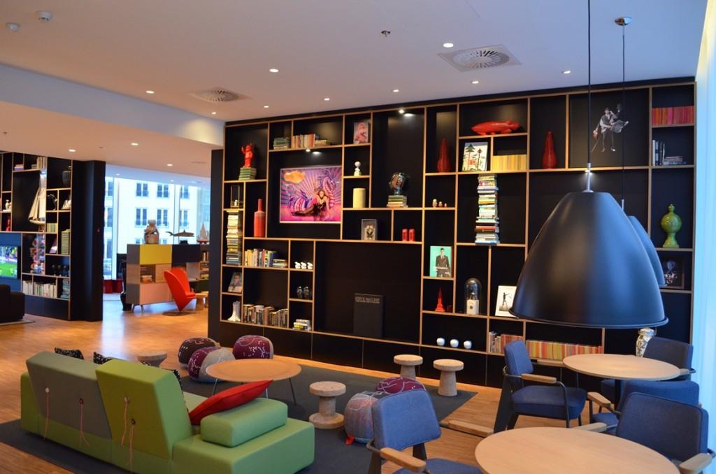 Hotel Citizen M Rotterdam Lounge