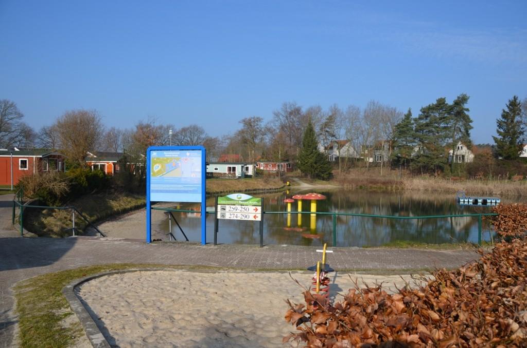Recreatieplas van Resort Arcen in Noord Limburg