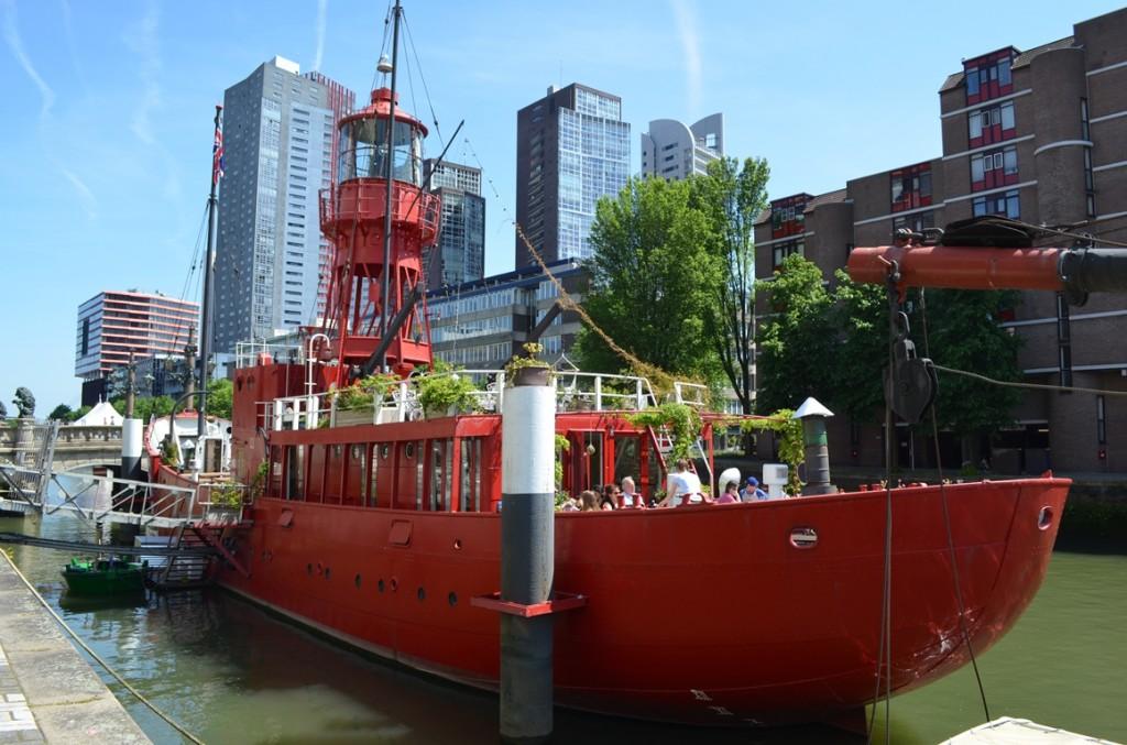 Rotterdam Havenmuseum blusboot