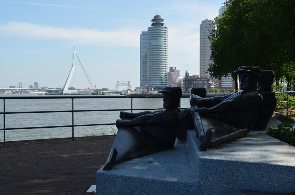 Rotterdam Katendrecht Roeiers