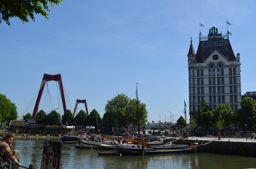 Rotterdam Willemsbrug Witte Huis