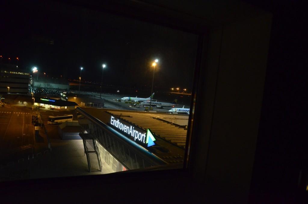 Uitzicht Hotelkamer Eindhoven Airport
