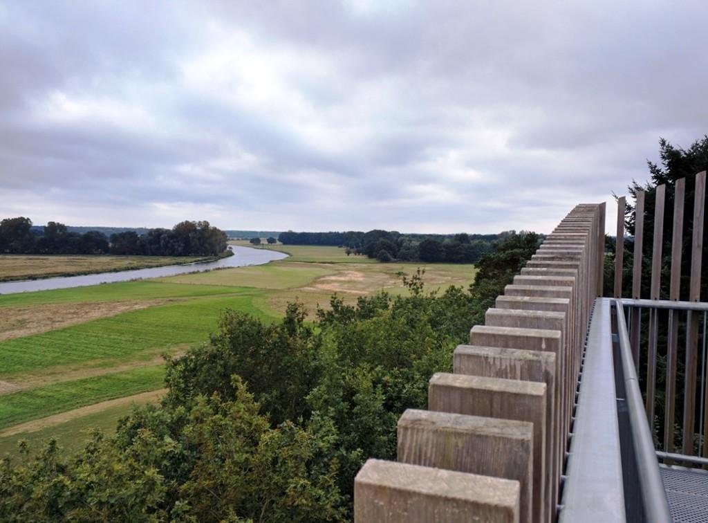 Uitkijktoren van Dalfsen in het Vechtdal