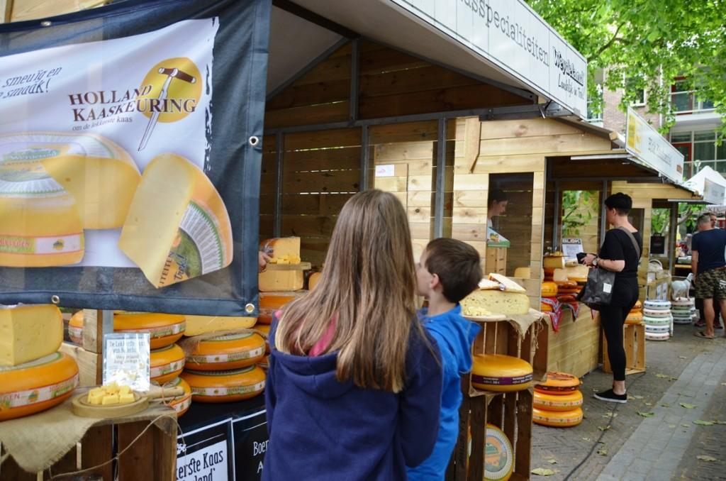 Kaasmarkt in Woerden