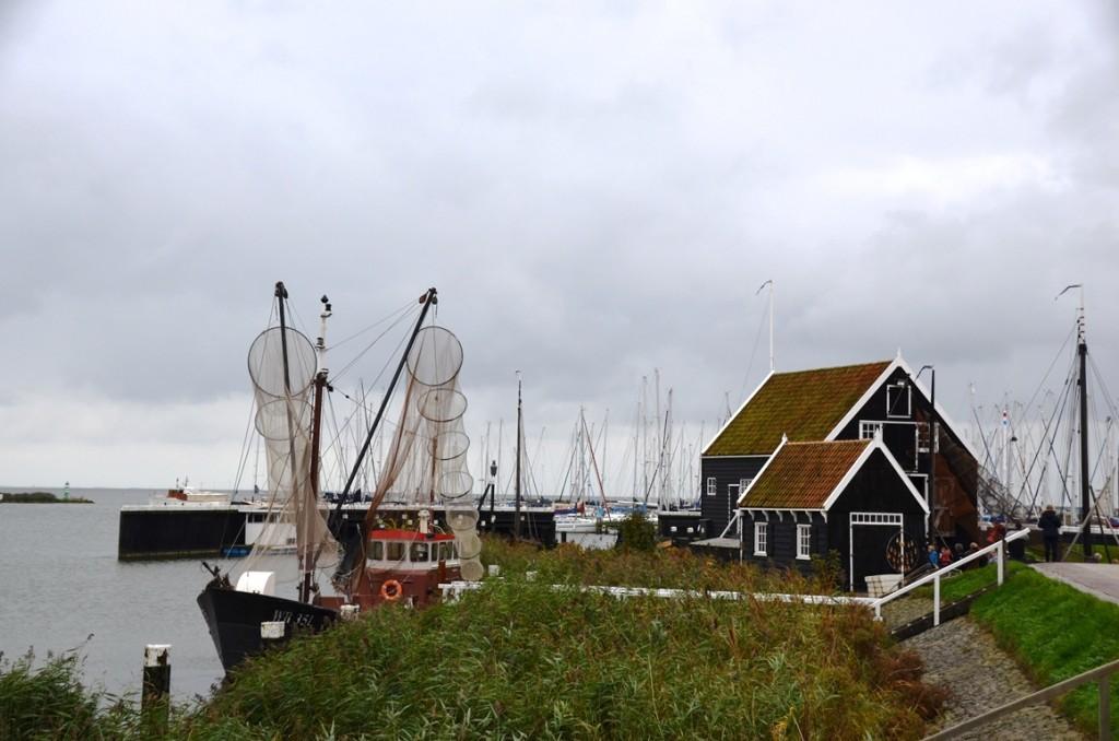 Haven van het Zuiderzeemuseum Enkhuizen