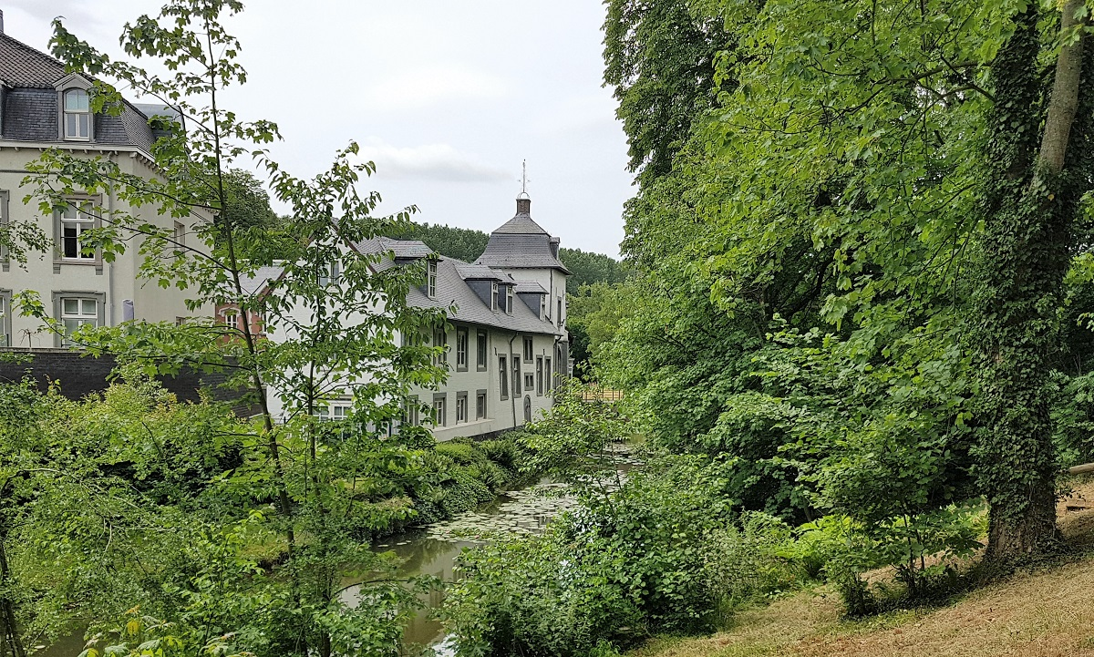 Maaskanter route fietsen in Stein Zuid-Limburg
