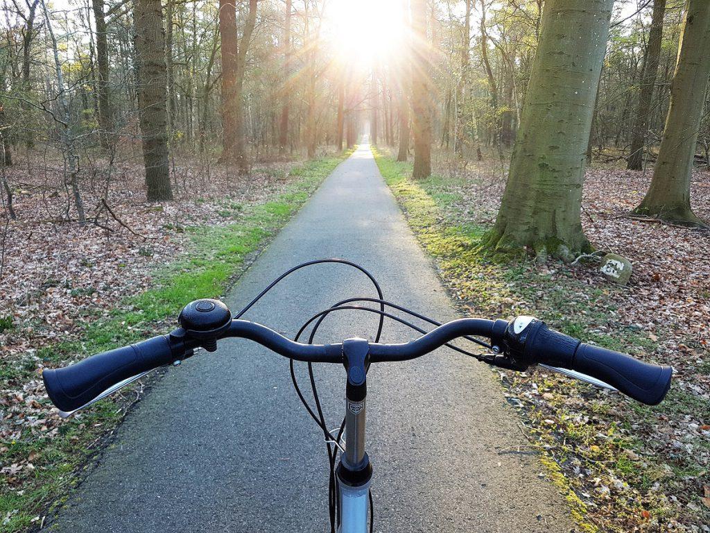 fietsen vanaf landal land van bartje