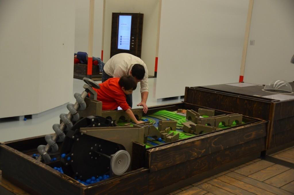 Waterbouw in Museum Het Valkhof