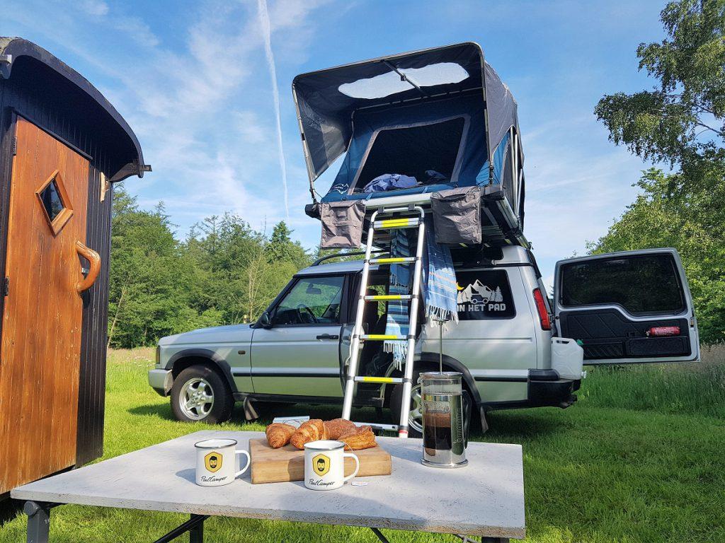 ontbijt op camping de klashorst